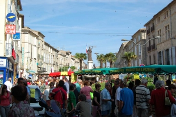 Pezenas Saturday market